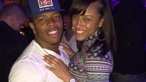 Ray Rice & girlfriend