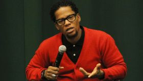 D.L. Hughley Signs Copies Of His Book 'I Want You To Shut The F#ck Up: How The Audacity Of Dopes Is Ruining America'