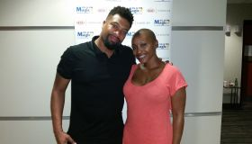 April Watts and DeRay Davis
