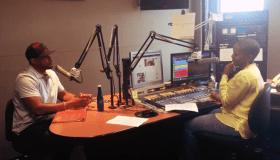 April Watts Interviews Finesse Mitchell