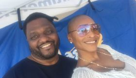 April Watts and Aries Spears