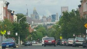 Baltimore City Skyline
