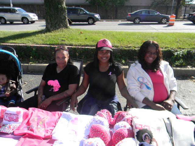 Breast Cancer Awareness Month Bra Cast