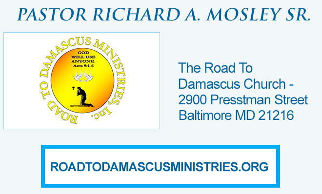 Road To Damascus Church Listing Updated