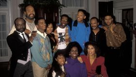 On the Set of 'The Fresh Prince of Bel-Air'