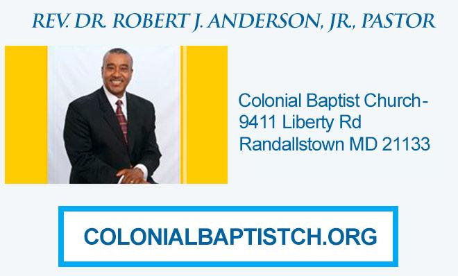 Baltimore Church Listing - Colonial Bapt Church