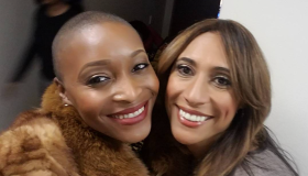 April Watts and Patrice Sanders of Fox 45 Baltimore