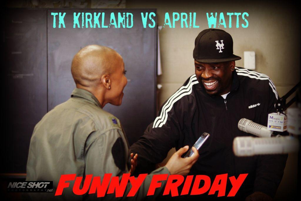 TK Kirkland On Funny Friday
