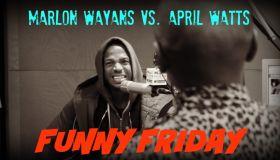 April Watts and Marlon Wayans