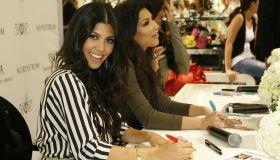 Kardashian Sisters Make Personal Appearance At Nordstrom Fashion Island