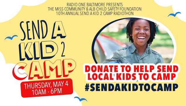 send a kid to camp - baltimore radiothon