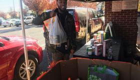 92Q & Giant Food For Families Holiday Food Drive 2017