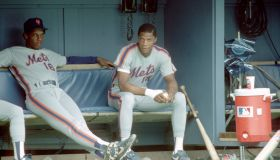 New York Mets Gooden and Strawberry