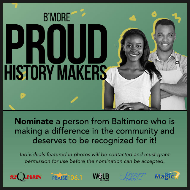 B'More Proud History Makers photo contest