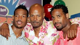 The Wayans Brothers Promote Their New Game 'The Dozens' At Blockbuster