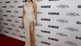 Jennifer Lopez arrives at Glamour Magazi