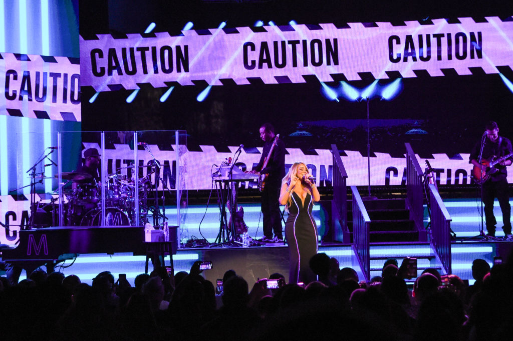Mariah Carey Performs At Fox Theatre Atlanta During the Caution World Tour