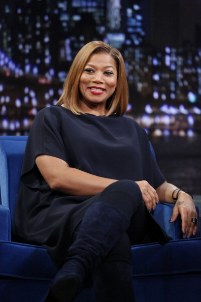 "Queen Latifah Visits ""Late Night With Jimmy Fallon"""