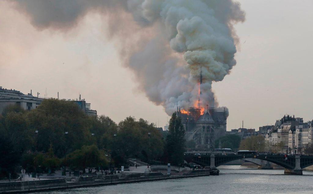 TOPSHOT-FRANCE-FIRE-NOTRE-DAME