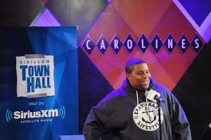 Actor And Comedian Kevin Hart Interviewed By Kenan Thompson For SiriusXM's 'Town Hall' Series