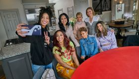 Red Table Talk Willow Smith Adrienne Banfield-Norris and Jada Pinkett Smith meet with Sonya Curry, Ayesha Curry, Sydel Curry and Callie Rivers