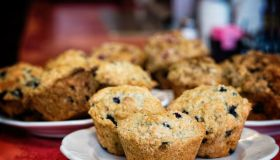 Old Fashioned, Homemade Blueberry Muffins