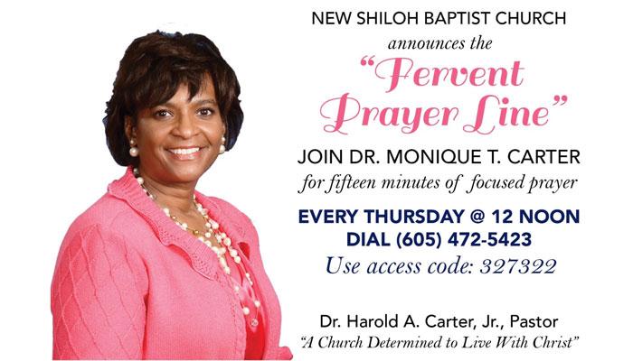 New Shiloh Fervent Prayer Line
