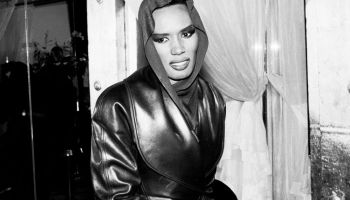 Grace Jones Backstage At The Tunnel