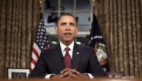 Obama Addresses Nation On Deadline Date For Combat Troops To Leave Iraq