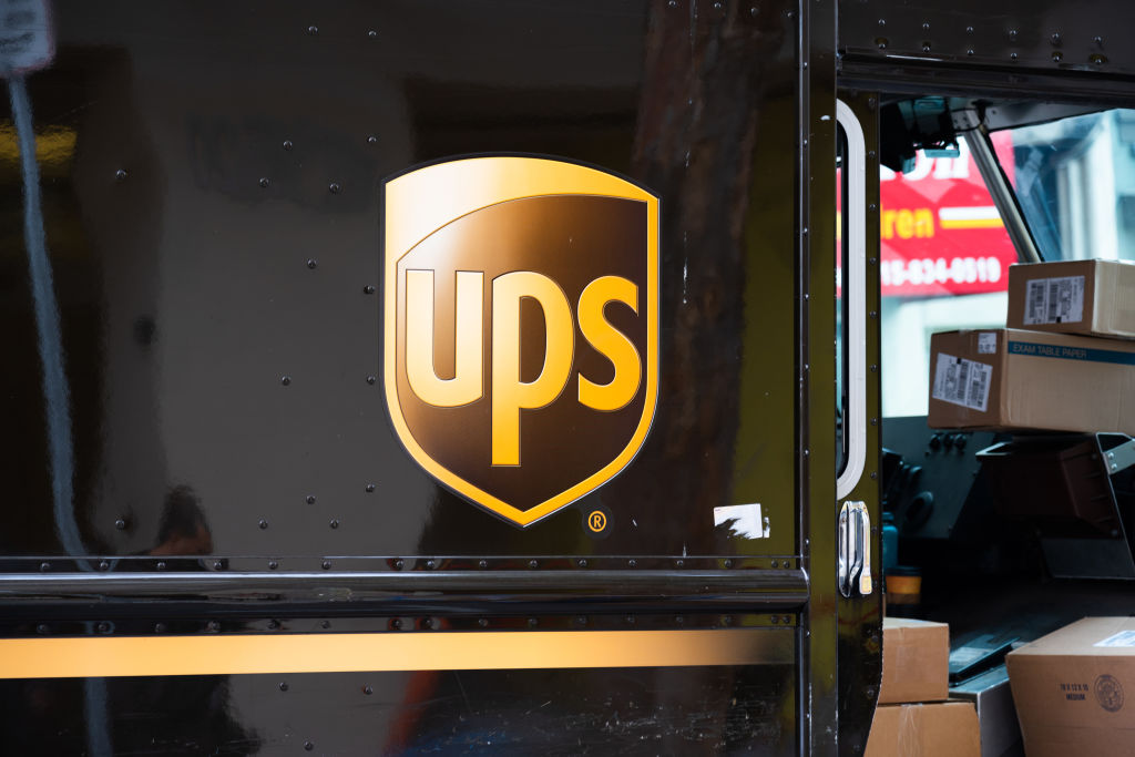 American multinational package delivery and supply chain...