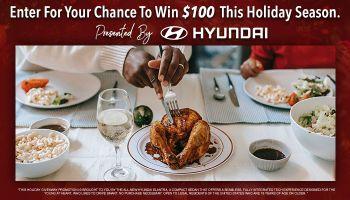 Hyundai Drive Through Campaign Giveaway