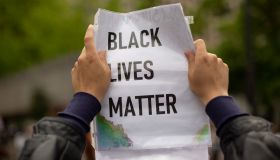 Black Livers Matter Protest Sign