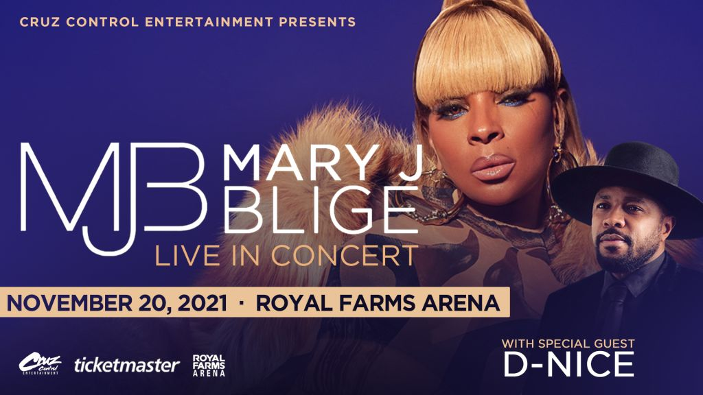 Mary J Blige and D-Nice Live In Concert